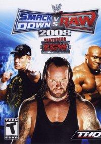 Обложка WWE SmackDown! vs. Raw 2008