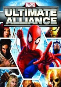 Обложка Marvel Ultimate Alliance