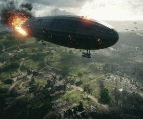 Баг в Battlefield 1 заставляет цеппелины сходить с ума