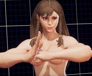 Моддеры раздели героинь Street Fighter V