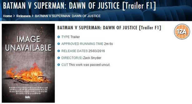 Слух: трейлер «Бэтмена против Супермена» выйдет на следующей неделе - Изображение 2