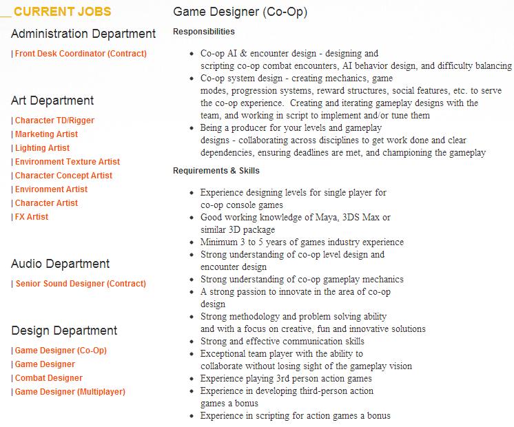Naughty Dog ищут геймдизайнера для кооператива - Изображение 1