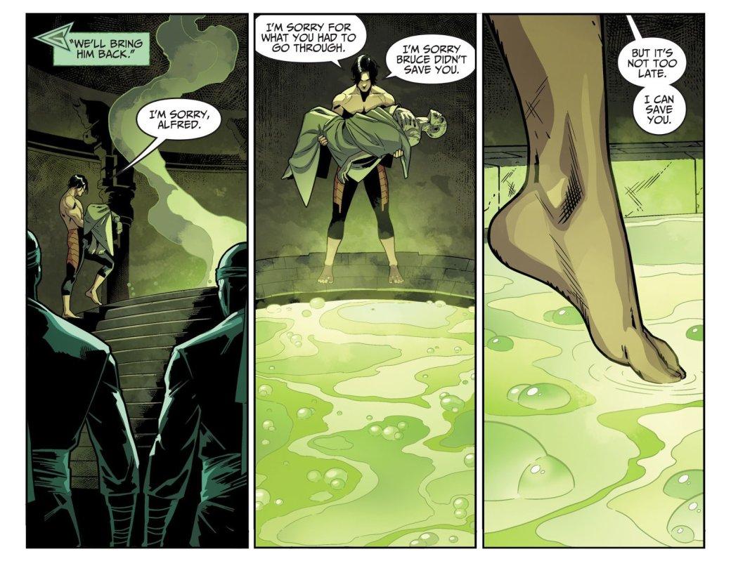 Сын Бэтмена вInjustice 2 решил воскресить Альфреда. - Изображение 2