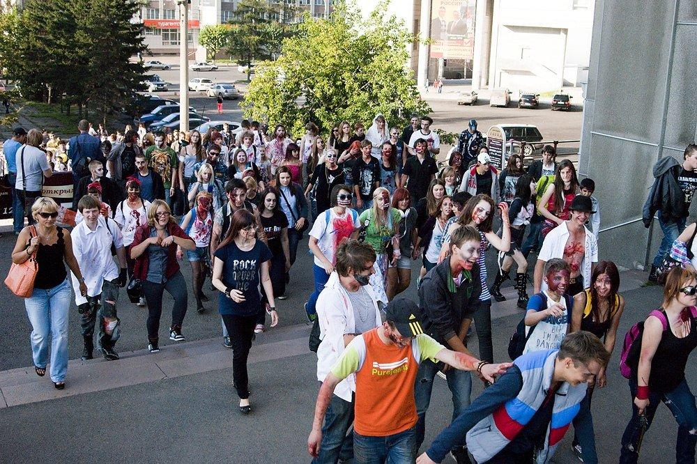 Лучшие фотографии с красноярского зомби-парада - Изображение 5