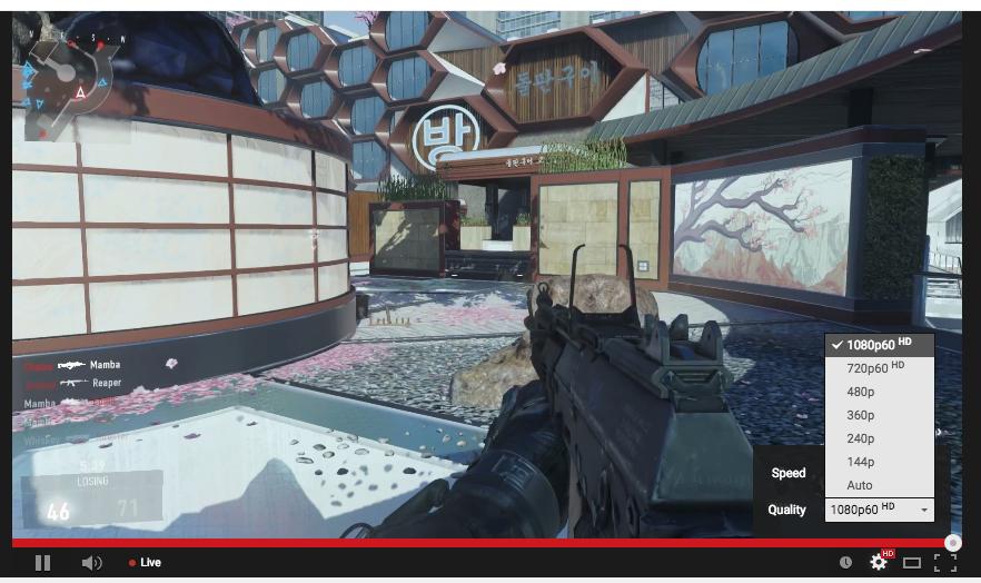 В YouTube появилась прямая трансляция игр в 1080p на 60 FPS - Изображение 1