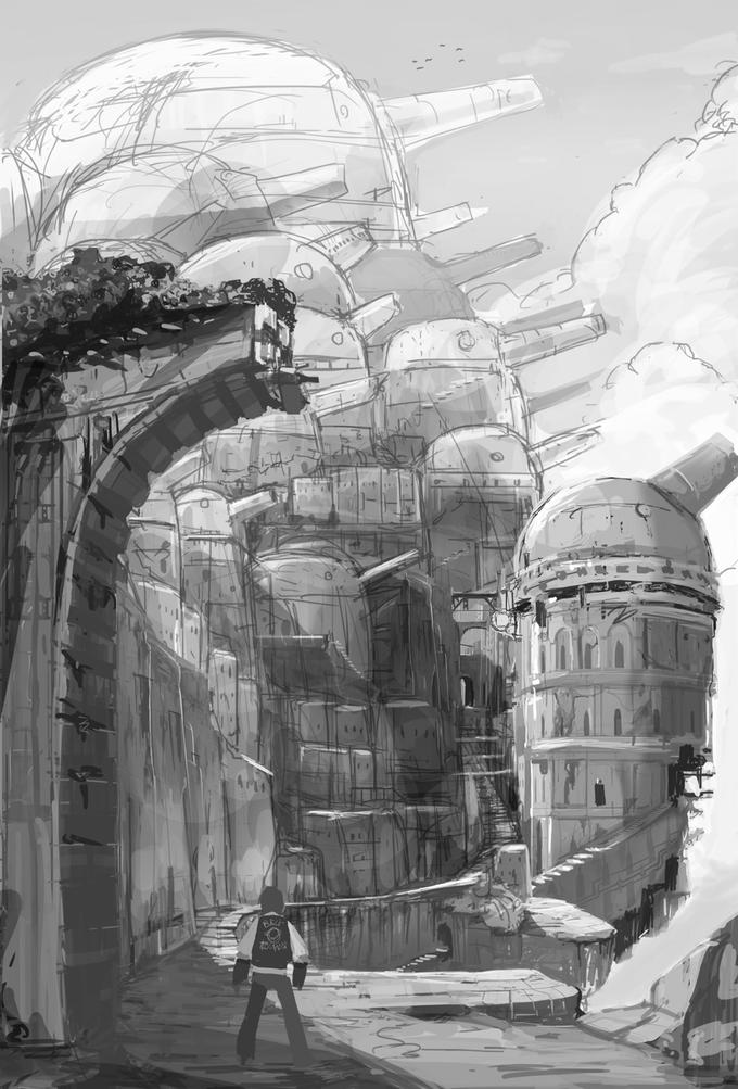 Новая игра от авторов Mega Man: аниме, роботы и передвижной город - Изображение 1