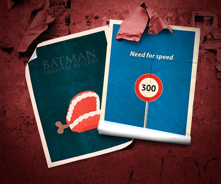 Минимализм: HALO, Need for Speed, BioShock. Batman Arkham Asylum, Fallout, Герои 3. - Изображение 1