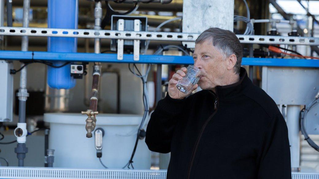 Билл Гейтс и Джимми Фэллон выпили воду, полученную из канализации - Изображение 2