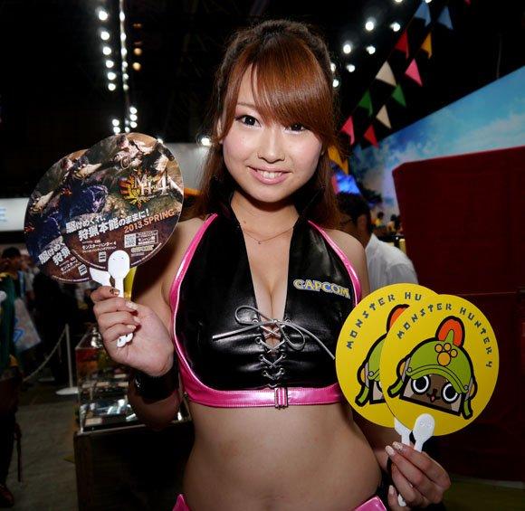 Девушки с Asia Game Show 2012 - Изображение 31