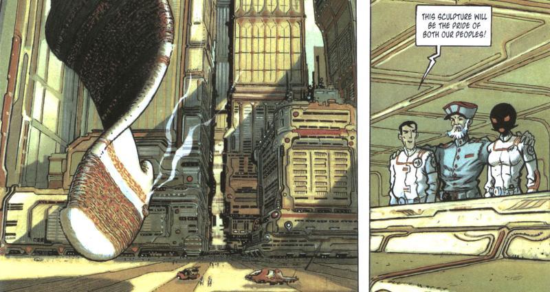 Комиксы: Orbital - Изображение 2