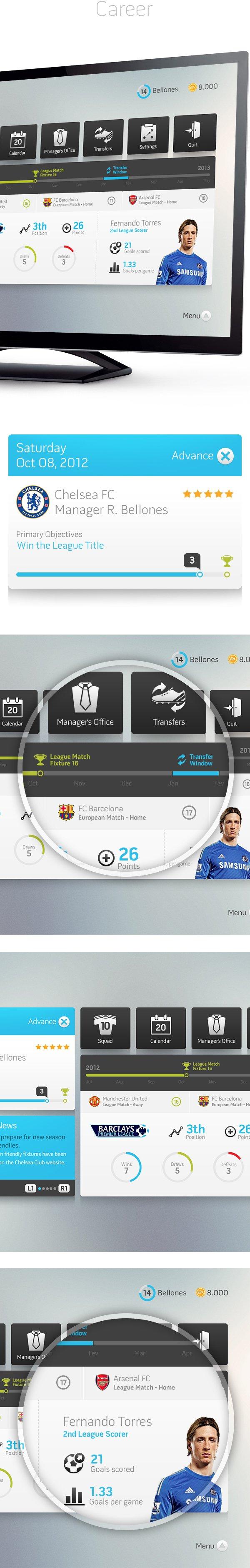 В сети появился дизайнерский прототип интерфейса FIFA - Изображение 4