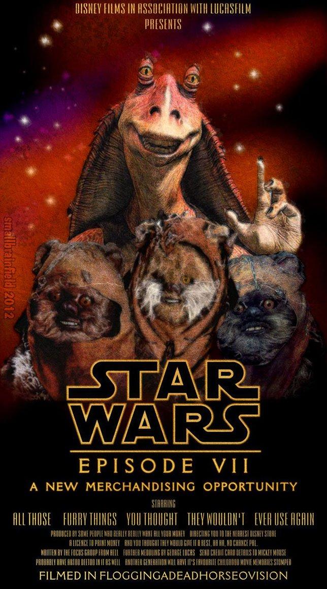 Фанатские постеры Star Wars: Episode VII - Изображение 44