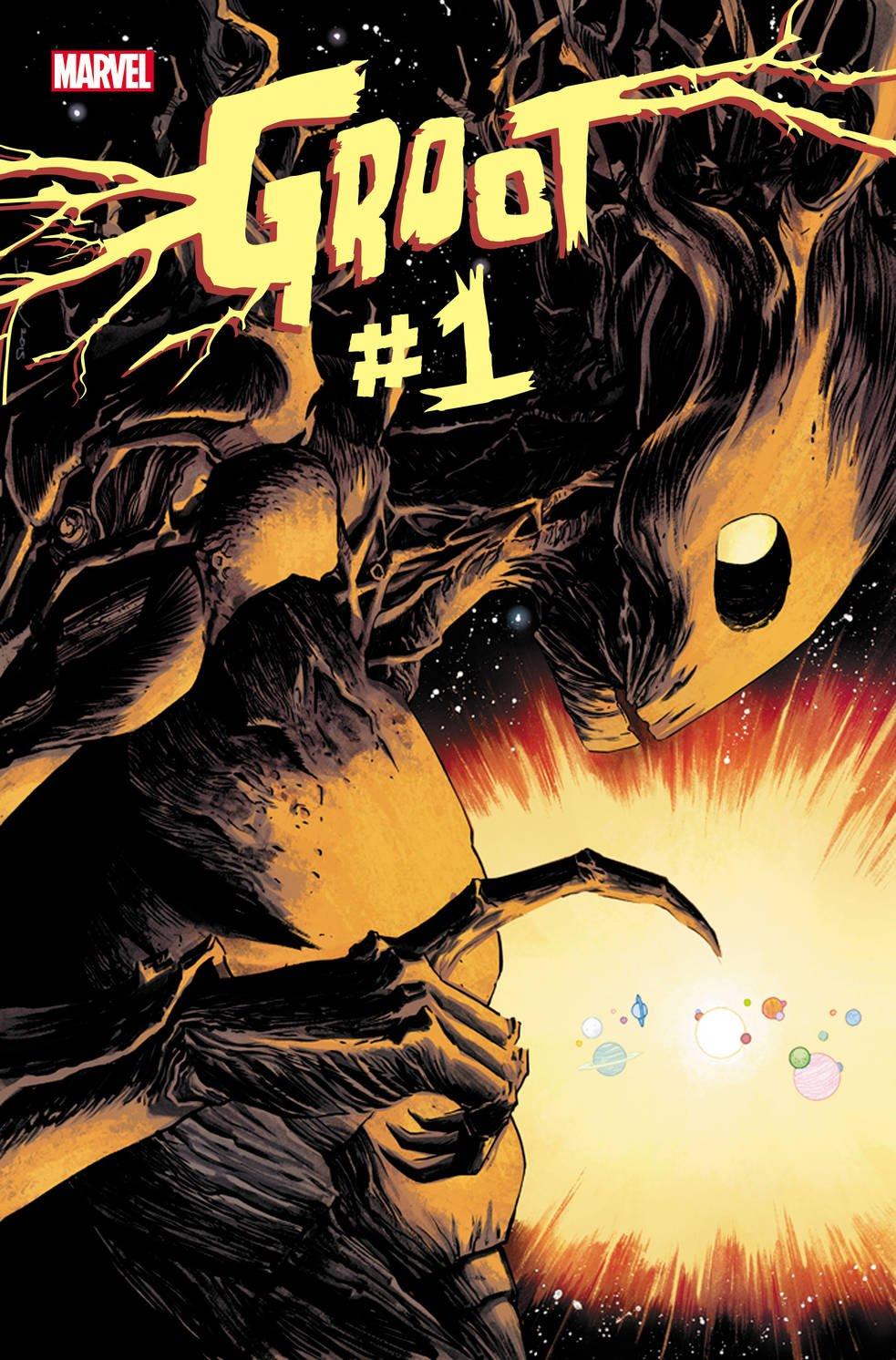 Комикс про Грута, деревянная Гвен Стейси и «муравьиные» обложки - Изображение 2