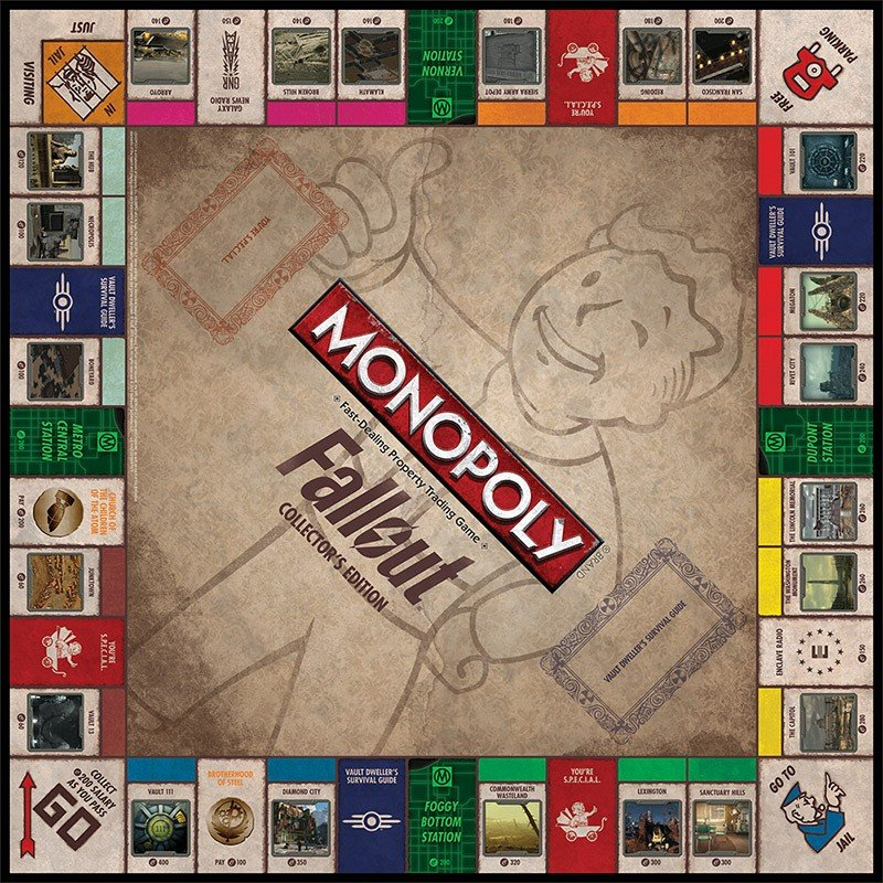 Monopoly: Fallout Collector's Edition стоит $40, выйдет в октябре - Изображение 2