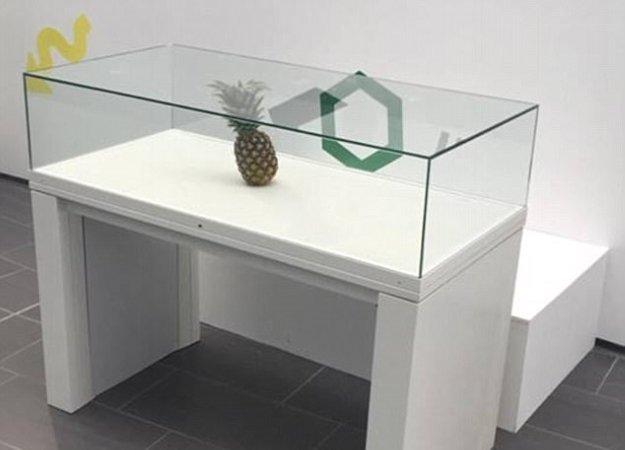 Забытый посетителем ананас приняли заарт-объект навыставке вШотландии