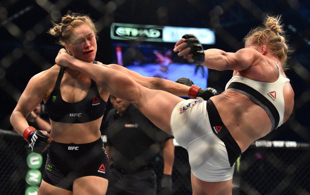 Ронда Раузи проиграла Холли Хольм из-за проклятья EA Sports UFC? - Изображение 1