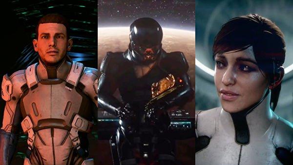 Andromeda появился вweb-сети — Трейлер Mass Effect