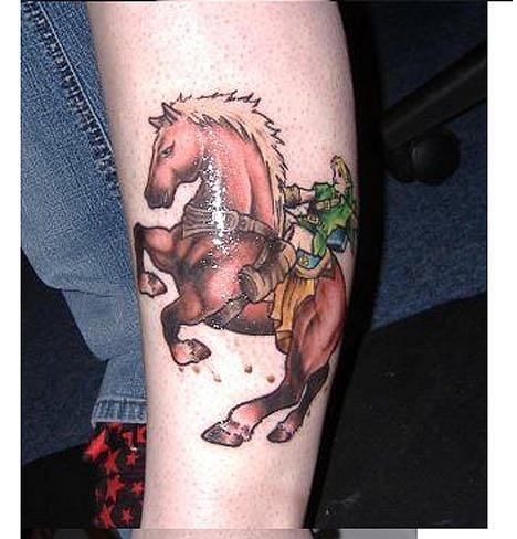Татуировки фанатов видеоигр. - Изображение 6