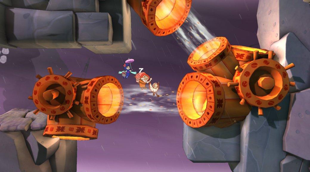 Штормовой платформер Shu нарисуется на PlayStation в 2015 году - Изображение 1