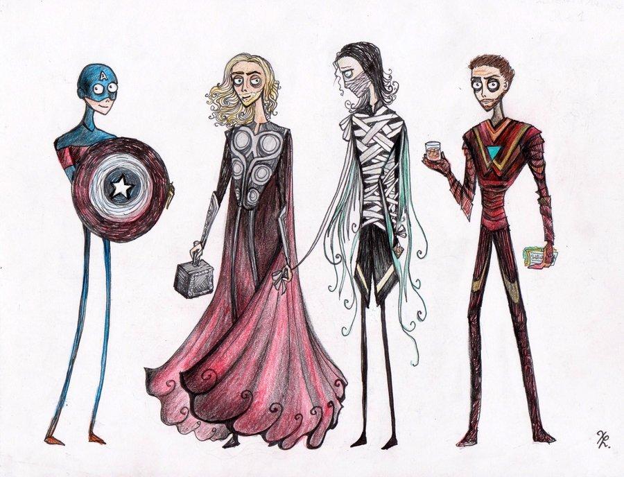 Галерея вариаций: Мстители-женщины, Мстители-дети... - Изображение 184