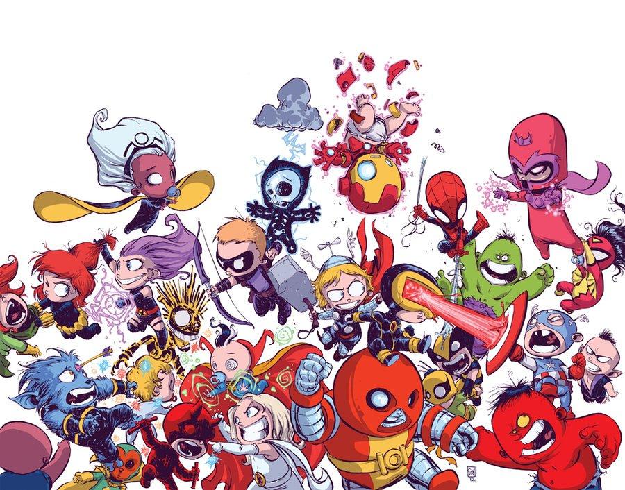 Галерея вариаций: Мстители-женщины, Мстители-дети... - Изображение 67