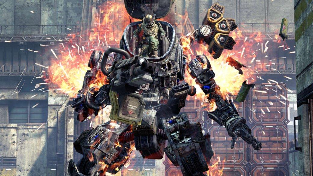 В Titanfall 2 вместо роботов используются боевые экскаваторы - Изображение 2