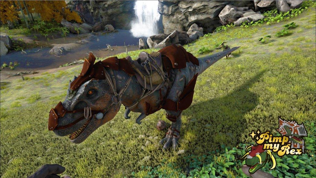 Прокаченный тирекс в Ark: Survival Evolved выглядит круто - Изображение 3