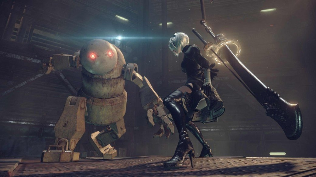 Кунгфу против роботов в новом трейлере Nier: Automata - Изображение 5