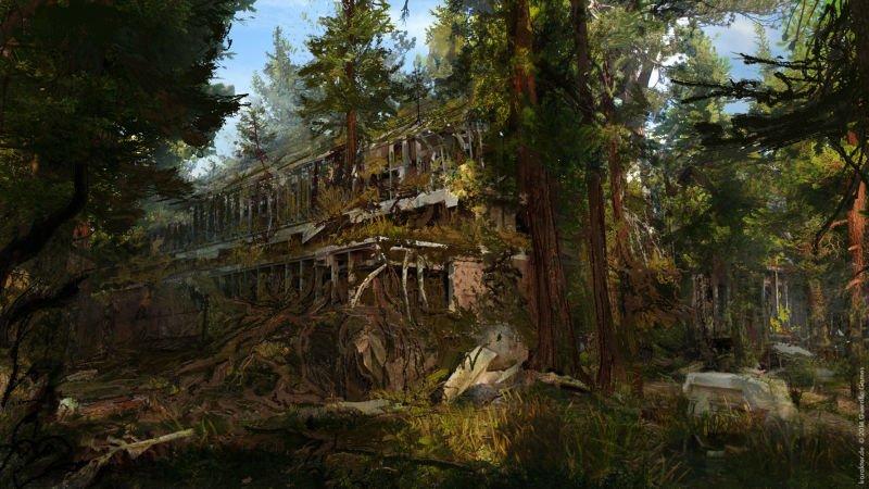 Прекрасные концепты Horizon: Zero Dawn отхудожников «Игры престолов» - Изображение 16