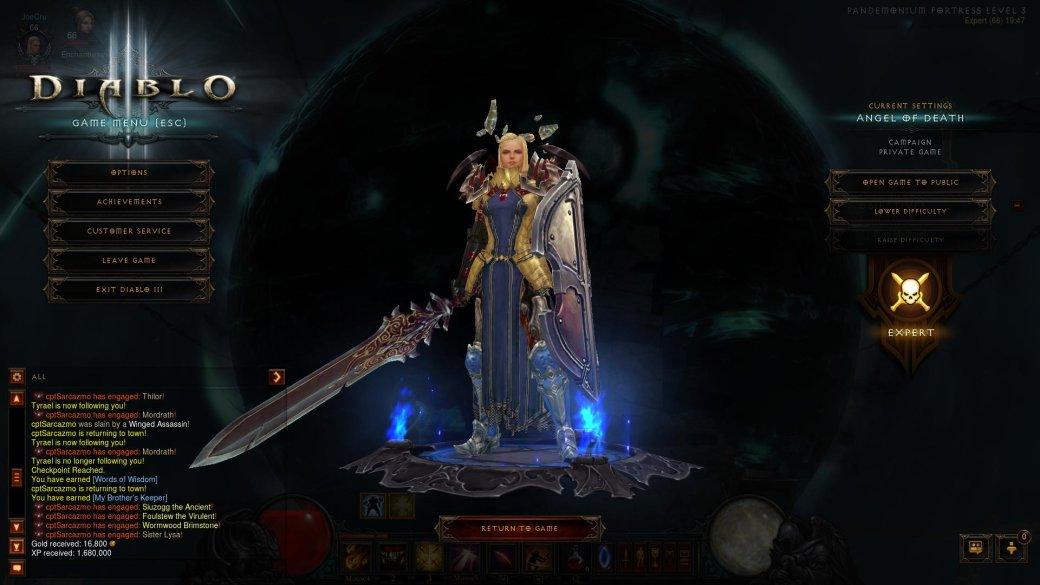 Обзор игры Diablo III: Reaper of Souls - Изображение 3