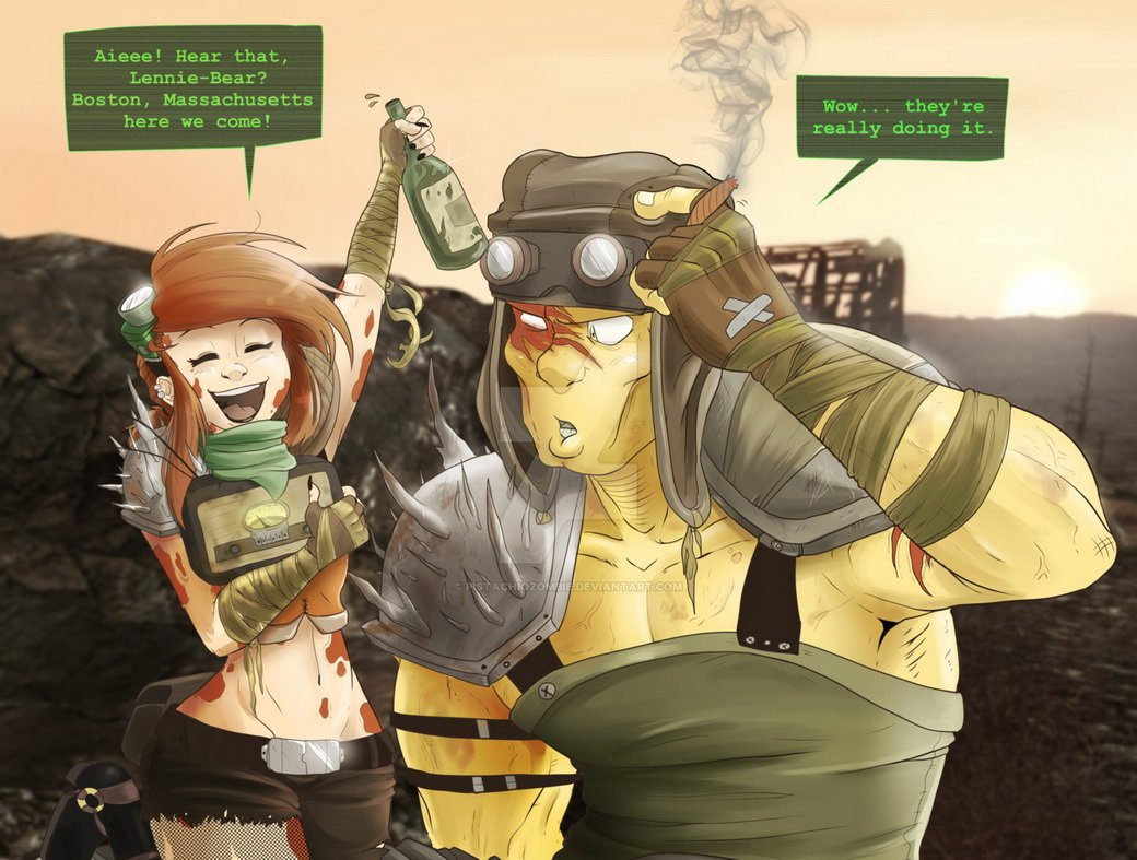 Лучший арт мира Fallout - Изображение 61