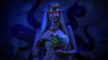 Очаровательный косплей королевы Азшары из World of Warcraft: Battle for Azeroth