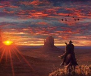 Гифка дня: секрет космических полетов вRed Dead Redemption2