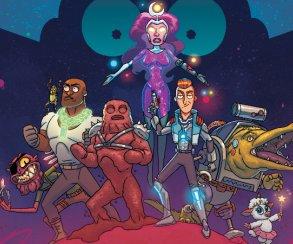 Новый комикс вовселенной «Рика иМорти» пародирует «Войну Бесконечности»