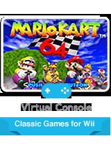 Mario Kart 64 – фото обложки игры
