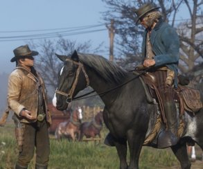 Red Dead Redemption 2 проиграла Assassin's Creed Odyssey вотзывчивости управления
