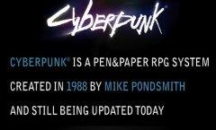 Cyberpunk. Дневники разработчиков
