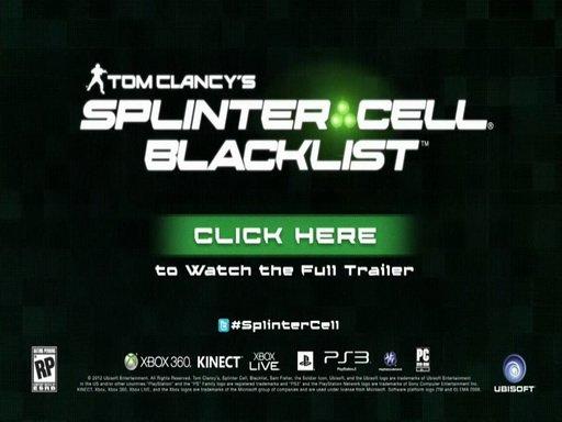 Tom Clancys Splinter Cell: Blacklist. Геймплей