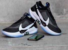 Nike AdaptBB: «умные» баскетбольные кроссовки савтоматической шнуровкой