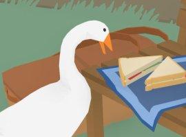 Вредный гусь прикидывается Солидом Снейком в релизном трейлере Untitled Goose Game
