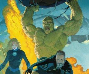 Возвращение Фантастической четверки тизерит новую свадьбу века настраницах комиксов Marvel