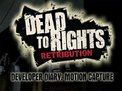 Dead To Rights: Retribution. Дневники разработчиков