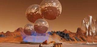 Surviving Mars. Демонстрация поверхности Марса