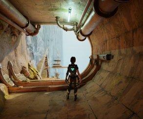 Брось вызов гравитации: вSteam выйдет игра Sky Beneath, вкоторой можно гулять постенам