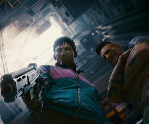 Трущобы, технологии, акупунктура икуртка-олимпийка нановых скриншотах Cyberpunk 2077