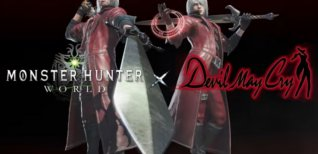 Monster Hunter: World. Данте из Devil May Cry в Monster Hunter: World
