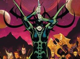 Как Хела сумела возродить своего возлюбленного Таноса настраницах комиксов Marvel?