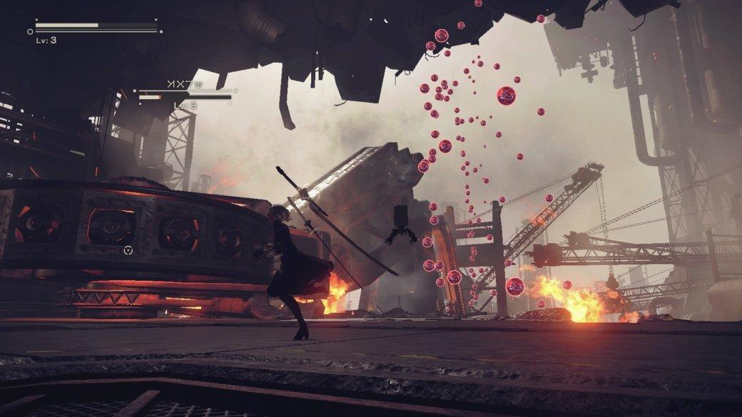 Rules of Nature! Демо Nier: Automata напоминает Metal Gear Rising | Канобу - Изображение 1
