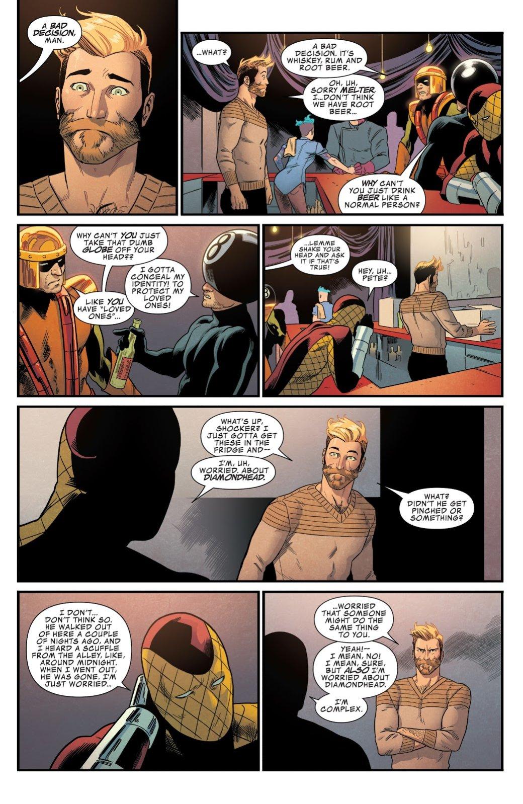 Открытия 2017— комиксы: Star-Lord, Infamous Iron Man, Batman: The White Knight. - Изображение 3