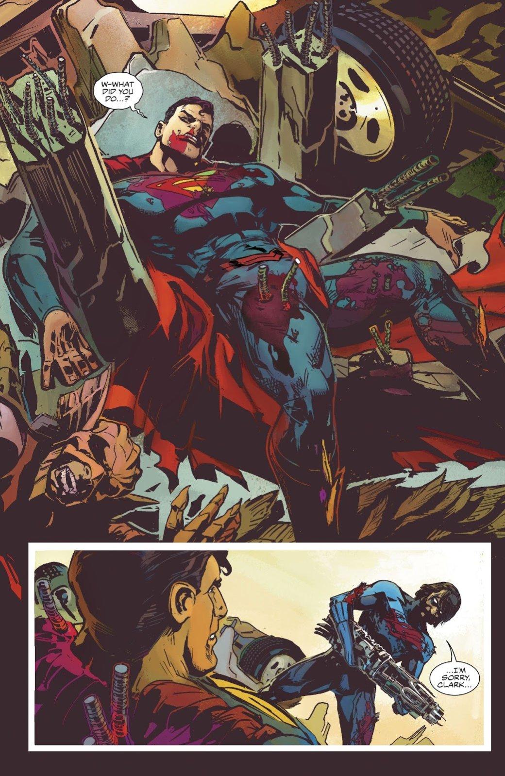Открытия 2017— комиксы: Star-Lord, Infamous Iron Man, Batman: The White Knight. - Изображение 8